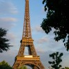 Paris pictures – Eiffel Tower in July