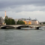 Paris pictures – View over Seine river
