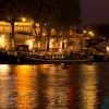 Paris pictures – Vintage boat on the river Seine