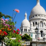 Paris pictures – Sacre Coeur in summer