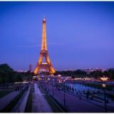 Paris pictures – Eiffel Tower by night