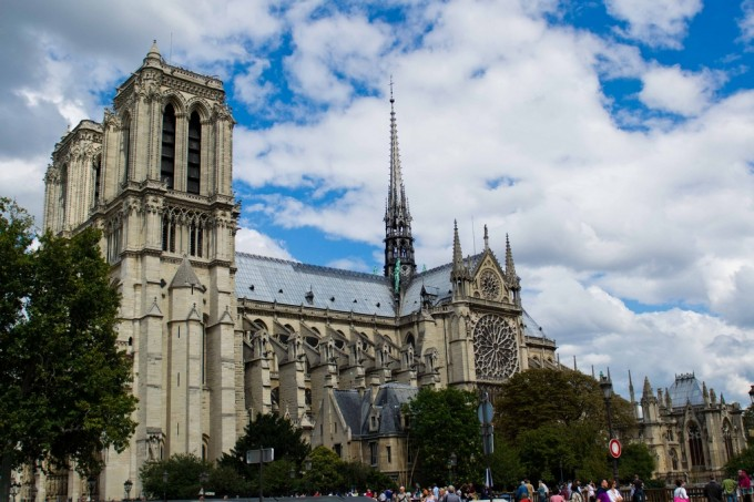 The Notre Dame church